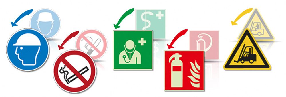 Sicherheitszeichen nach ISO 7010