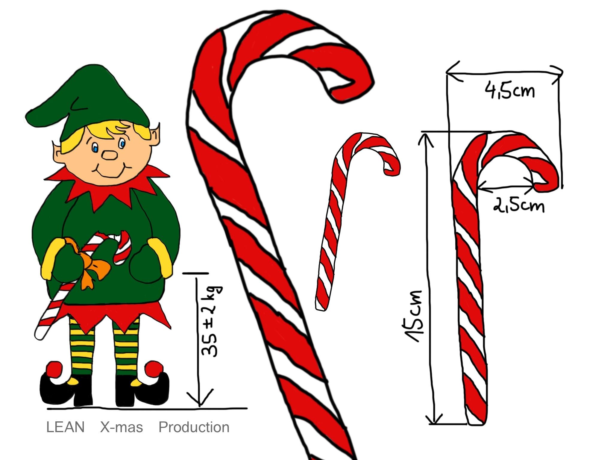 Lean x mas production weihnachtswerkstatt