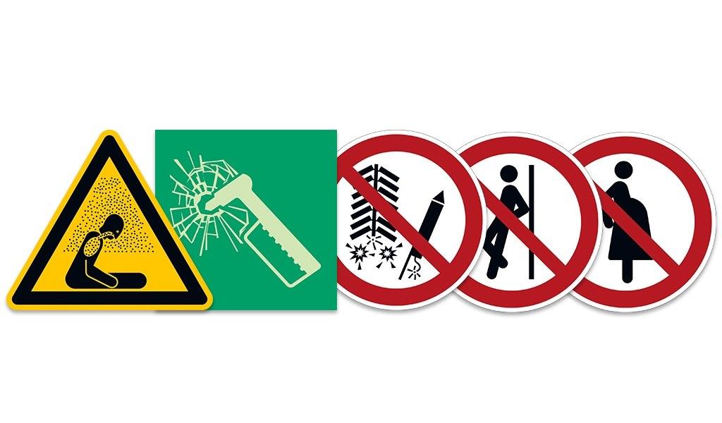 Neue Symbole ISO 7010