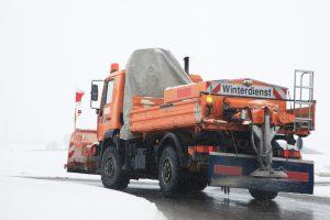 Winterdienst Fahrzeug