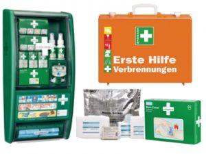 Produkte für Erste Hilfe bei Verbrennungen