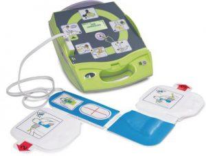 Defibrillator: ZOLL AED Plus