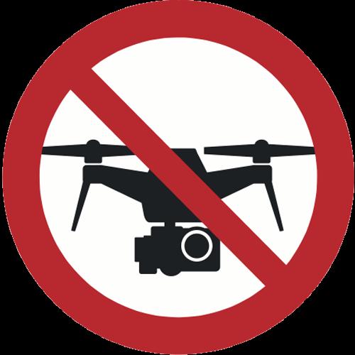 Verbot - Drohnen verboten