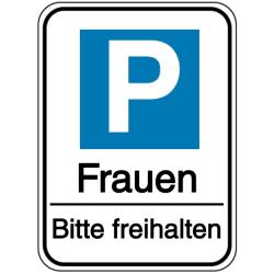 Frauenparkplatz Schild