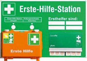 Erste-Hilfe-Station nach DIN 13157